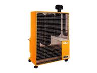 自社開発遠赤外線暖房機